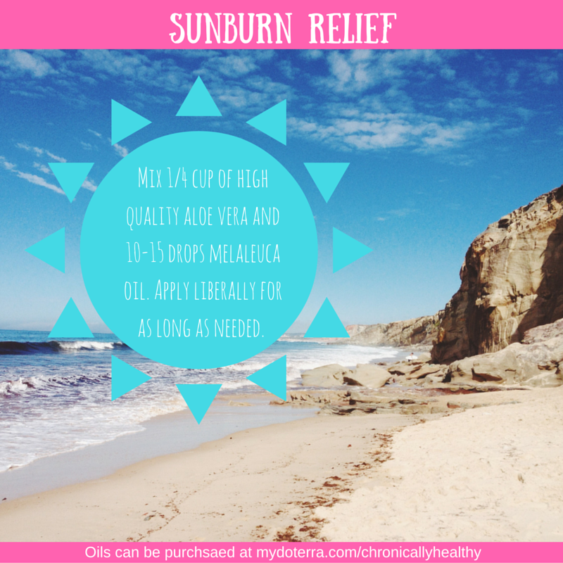Tea Tree Aloe Sunburn Relief