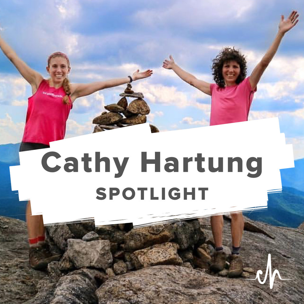 Cathy and daughter Genna climbed Rocky Peak in the Adirondacks last summer!