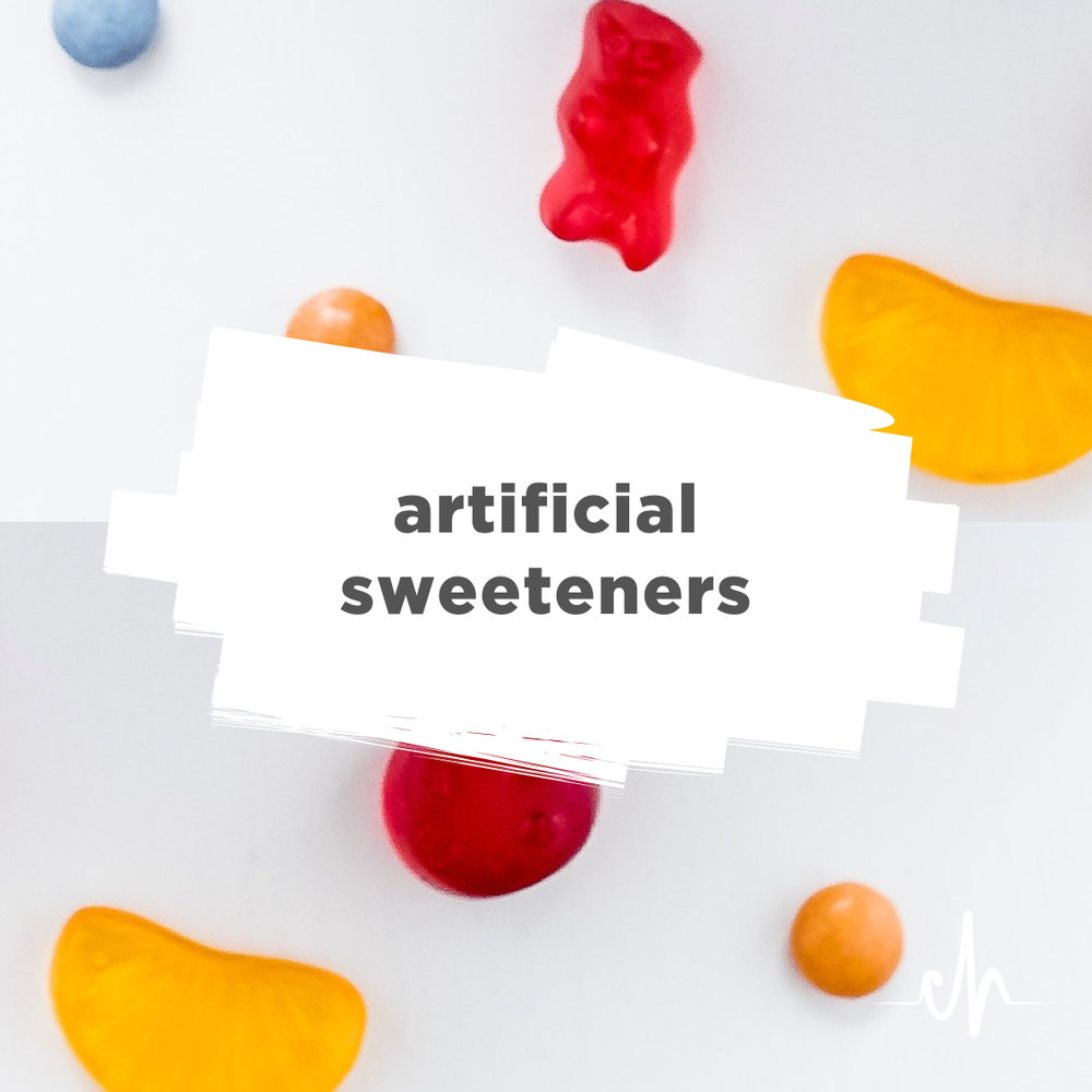 artificial sweeteners 1 Other health concerns are suspected, but unproven, with many of the artificial sweeteners used, like aspartame, acesulfame k and sucralose 12 if you must drink diet sodas, however, you will likely still stay in ketosis.