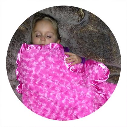Baby blanket testimonial