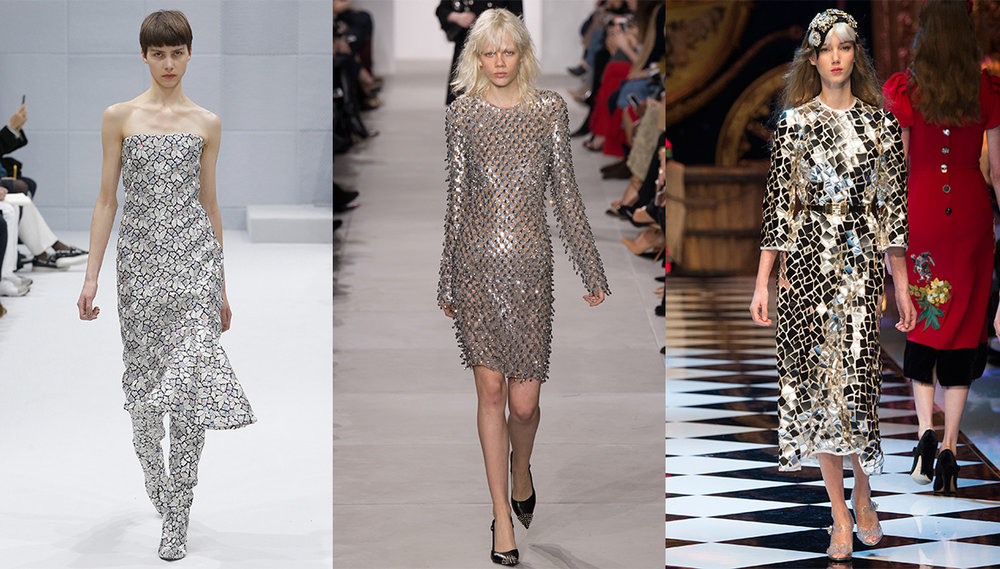 Playing with the light with these runway looks from Balenciaga, Dolce & Gabbana & Michael Kors