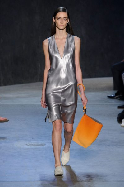 Metallics as seen on the runway of NYFW