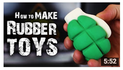 How To Make Rubber Toys