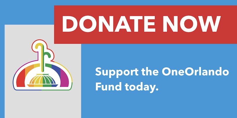 Donate To The OneOrlando Fund