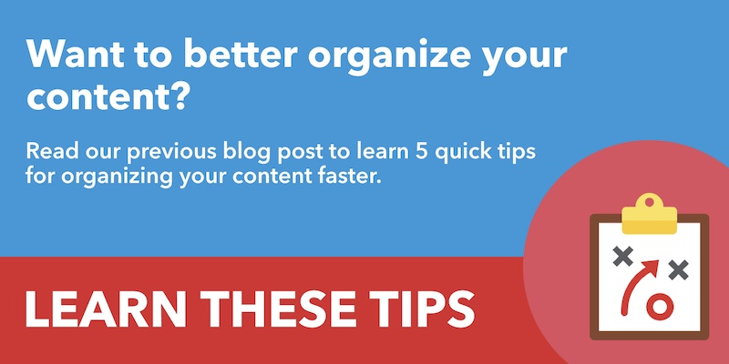 RedFork Can Help Plan & Organize Your Content
