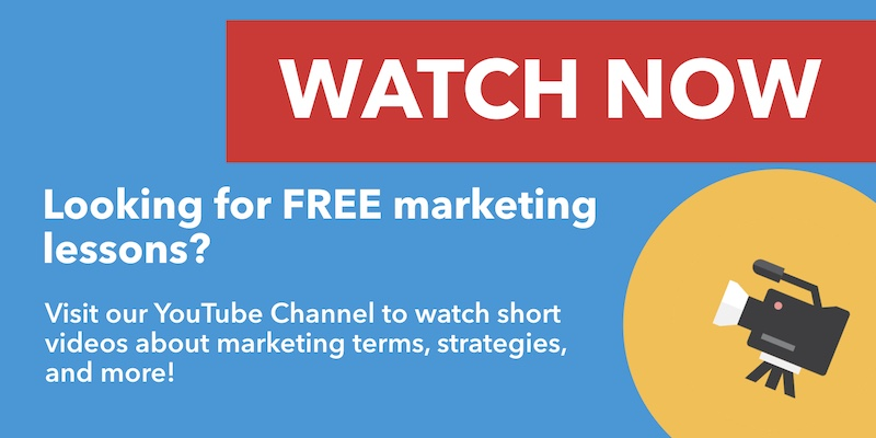 Free Marketing Lessons On YouTube