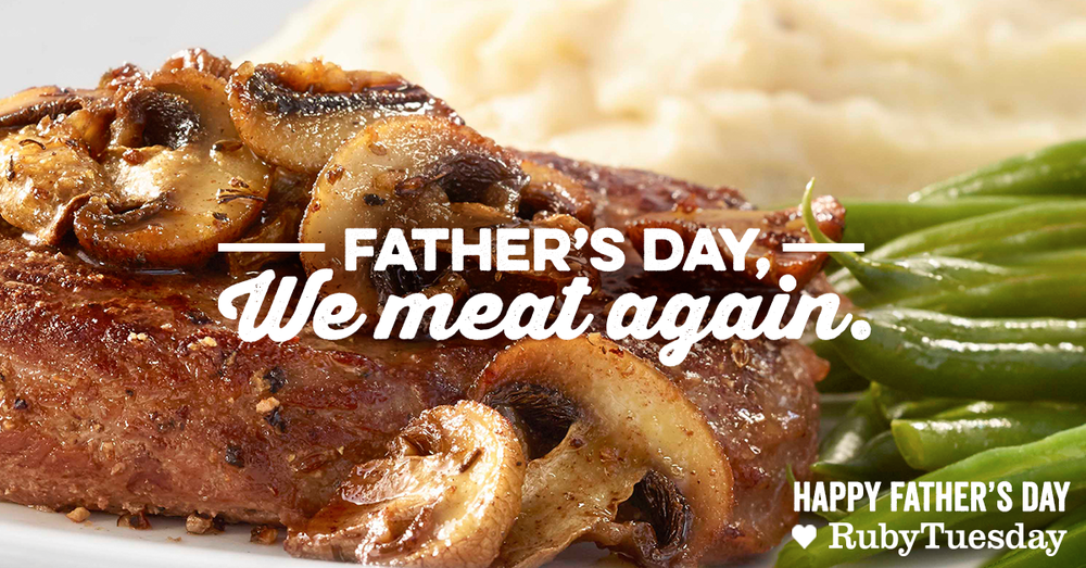 Take it from us, all Dad wants for Father's Day is a big, fat, juicy… gift card.