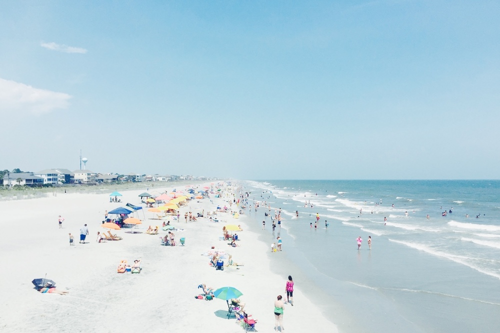 sweetjanesunderground :     Folly Beach. July 12, 2015.