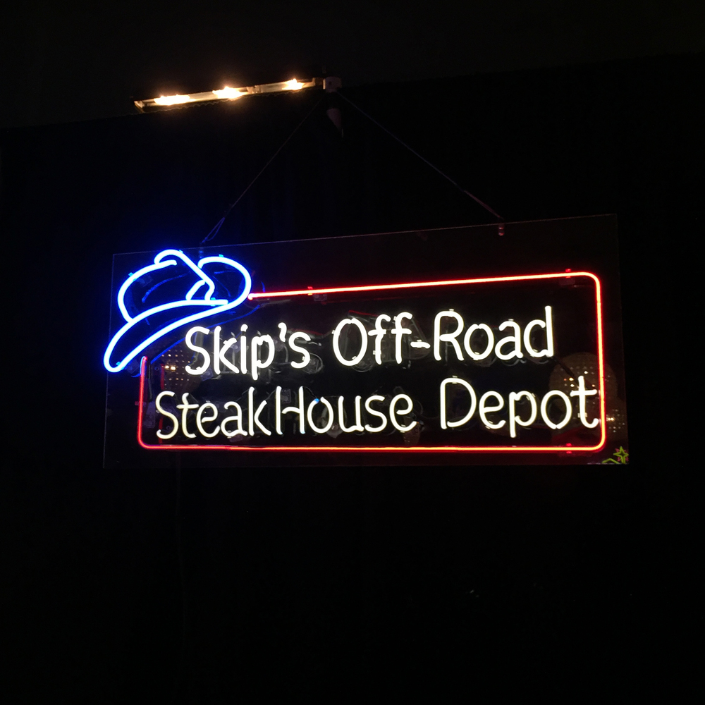 Skip's Off-Road SteakHouse Depot, By Lindsey Liss