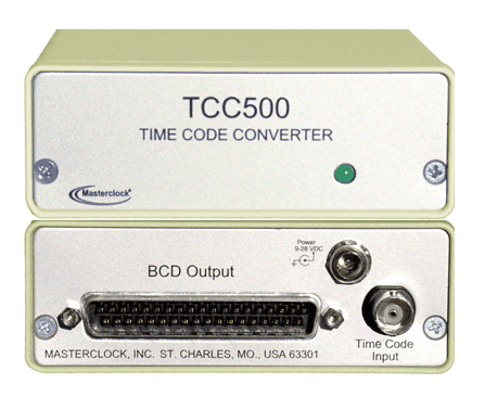 masterclock tcc500