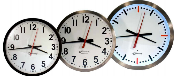 time code analog clocks