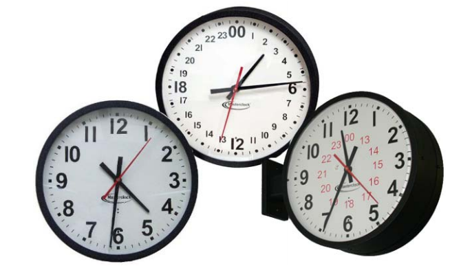 Analog Clocks For Ntp  Time Code  U0026 Master Clock Systems