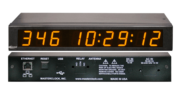 NTDS19 NTP Digital Display
