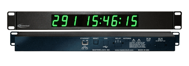 NTDS19-RM NTP Digital Display