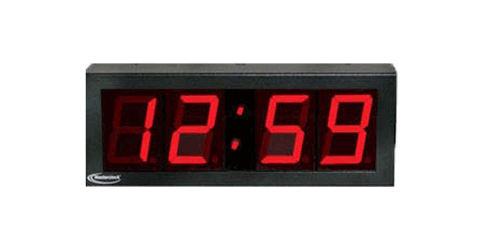 NTDS24 NTP Digital Clock