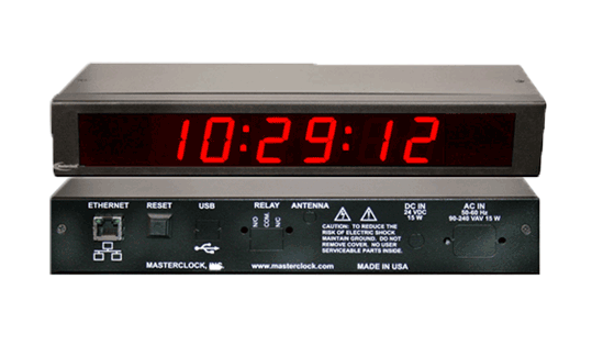 TCDS16 Time Code Digital Clock