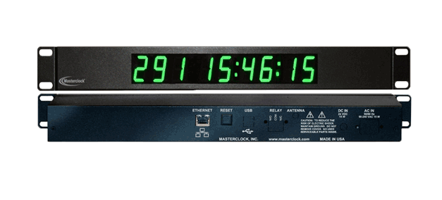 TCDS19-RM Time Code Digital Display