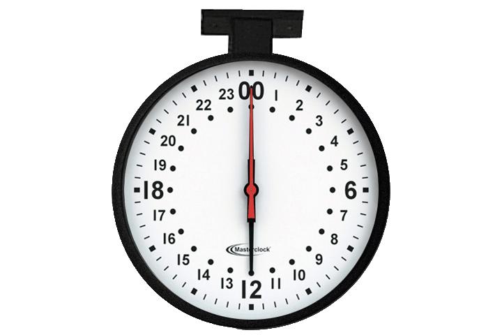 CLKNTD12-24HMDF NTD Analog Clock