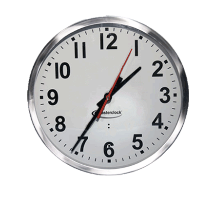 CLKTCD12-SS Time Code Analog Clock