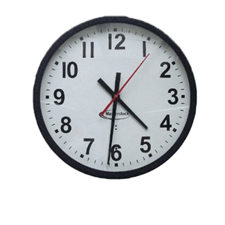 CLKTCD12 Time Code Analog Clock