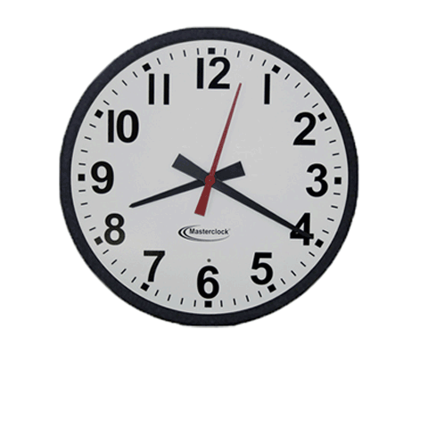 CLKTCD15 Time Code Analog Clock