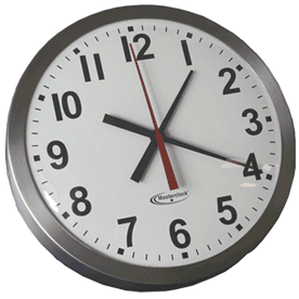 CLKTCD18-SS Time Code Analog Clock