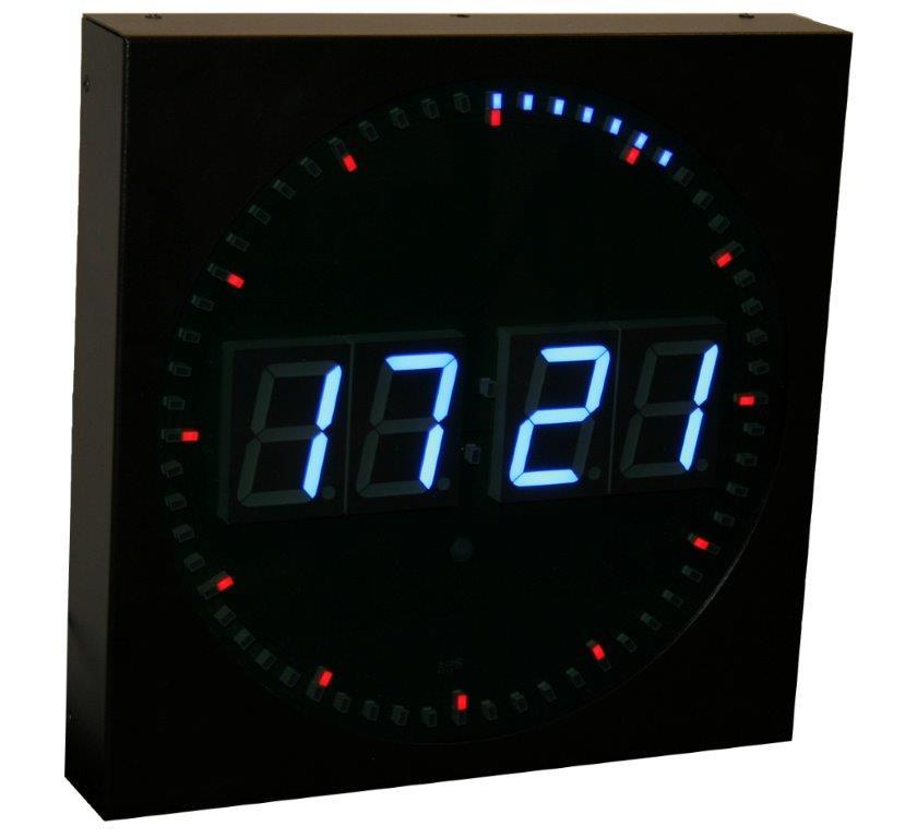 NTP Digital-Analog Clock from Masterclock
