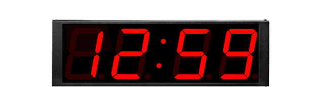 TCDS44 Time Code Digital Display