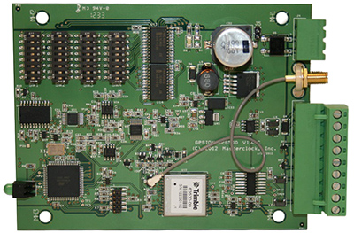 gps timing card for electric utilities