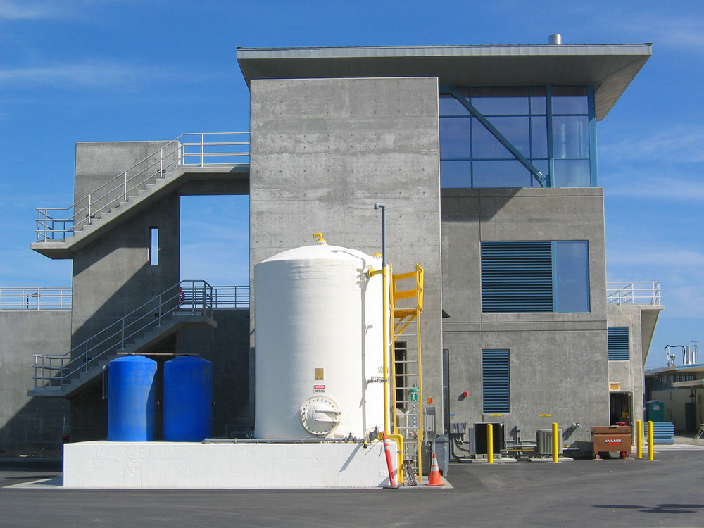 SF International Airport Wastewater Treatment Plant