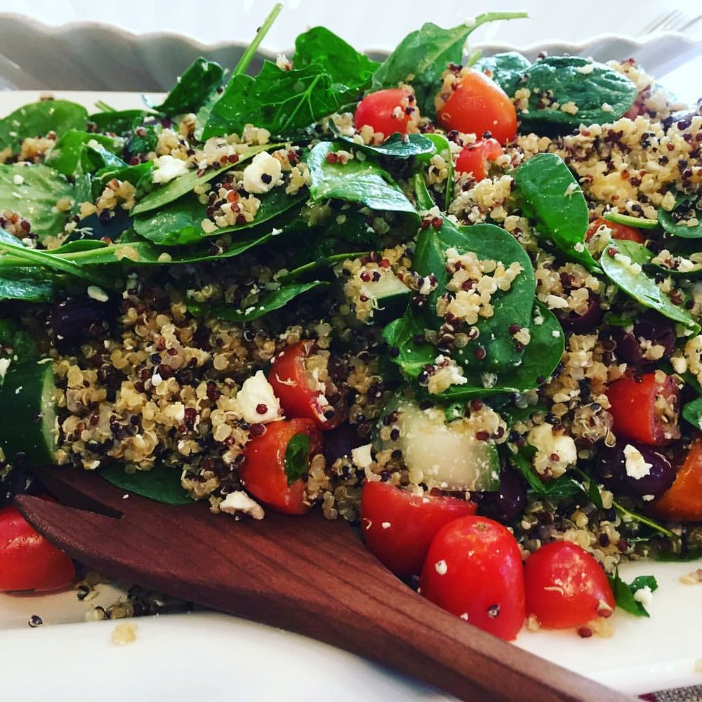 Mediterranean Quinoa Salad May 11, 2017