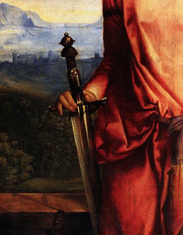 Giorgione, Judith detail