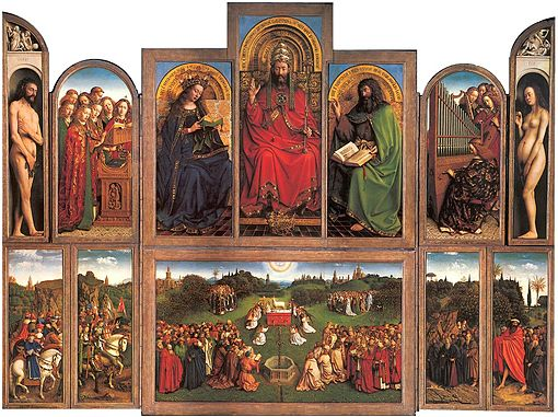 Ghent Altarpiece (open view)