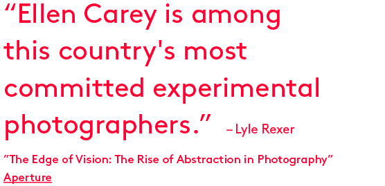 Ellen Carey, Lyle Rexer, Aperture, The Edge of Vision: The Rise of Abstraction in Photography