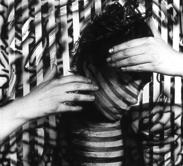 Ellen Carey,  Black & White Self-Portrait Series   1978   ––