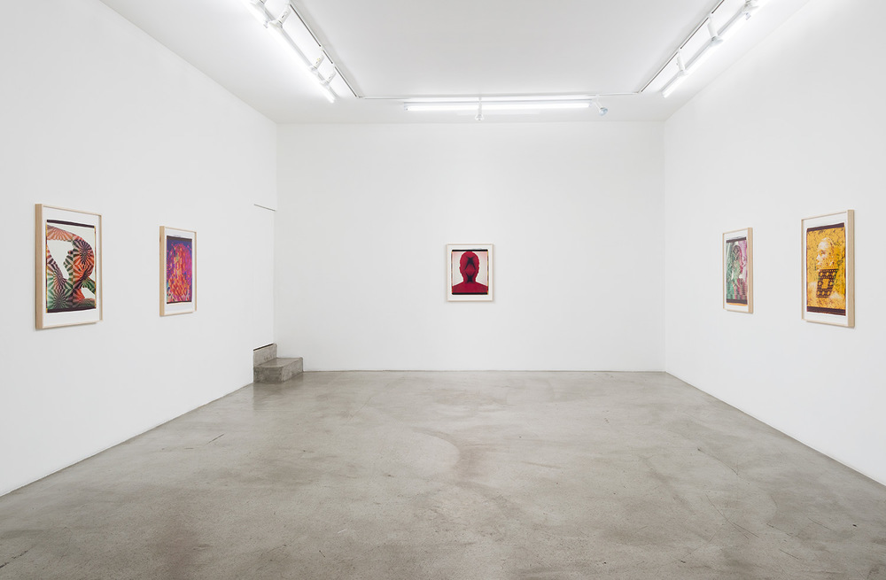 Ellen Carey: Polaroid 20 X 24 Self-Portraits  Installation view, M+B Gallery Los Angeles, CA 2015 ––