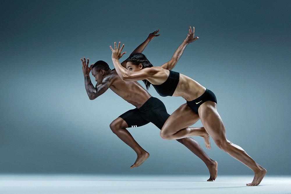Olympians - Akani Simbini & Alyssa Conley