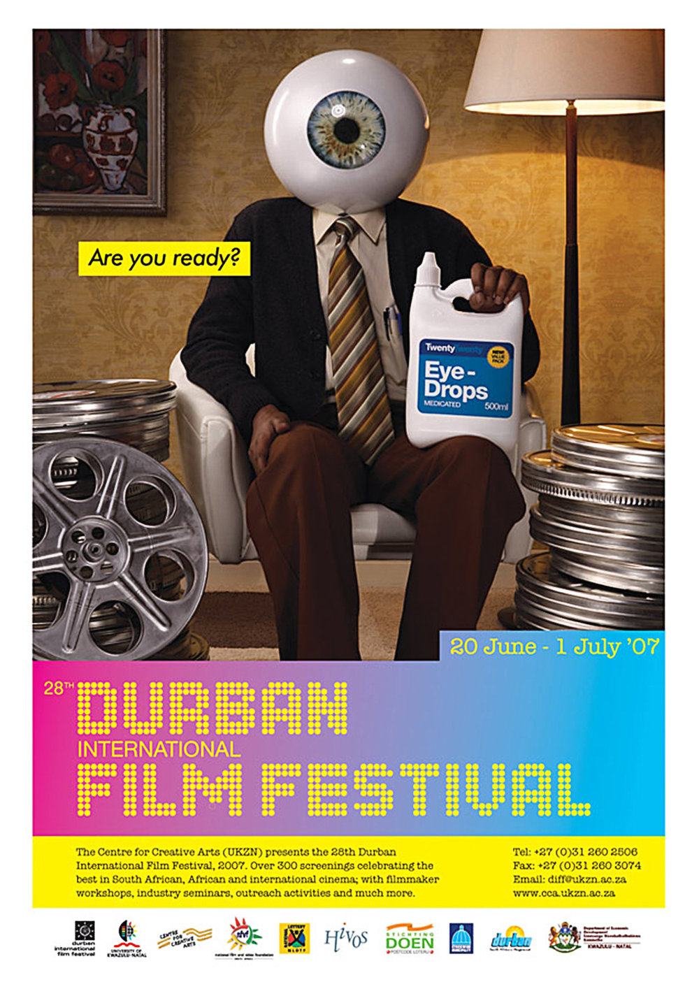 Durban International Film Festival - Poster