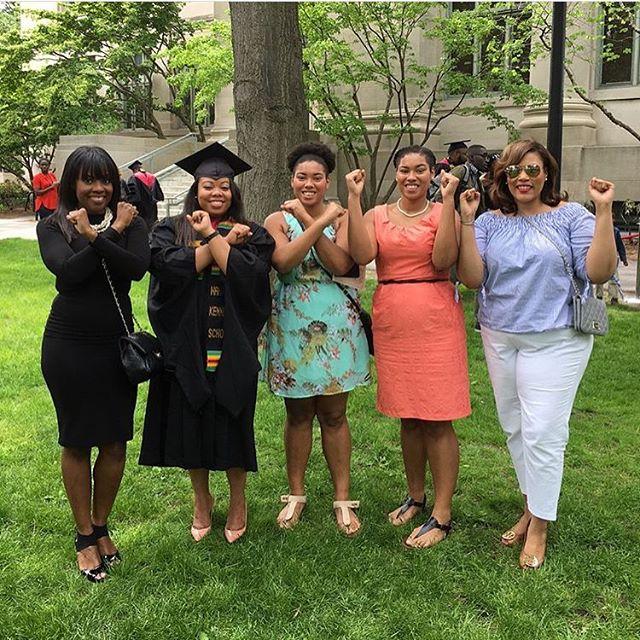 Xavierites at @harvard Black Graduation!! Congrats @drlaurenp!!