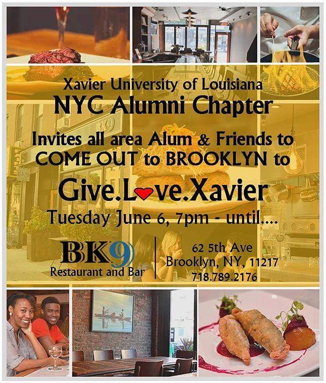 New York City Alumni!!! See everyone at BK9 Restaurant and Bar to celebrate #GLXU17