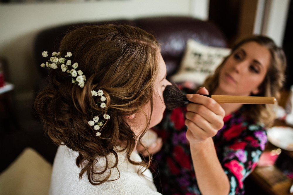 (Always nice to have a sister that's also a makeup artist!)