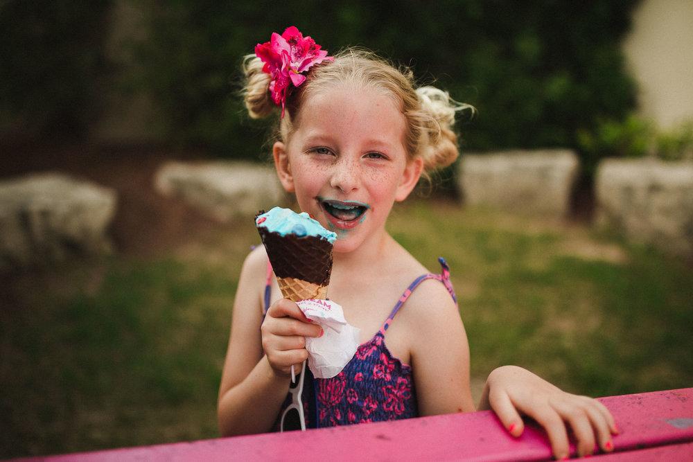 Ice cream is always an option