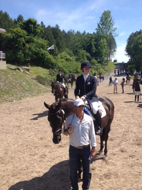 ROC coaching Lizzie Snow-Bromont