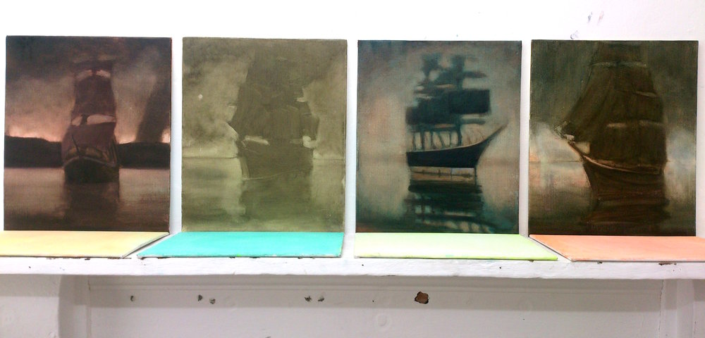 installation view ships that are now wrecks St Ives 2015.JPG