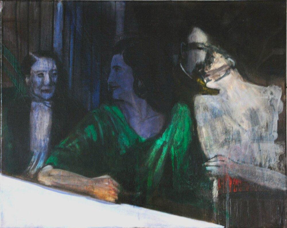 Sisters 1945 40x50cm oil on canvas 2013.jpg