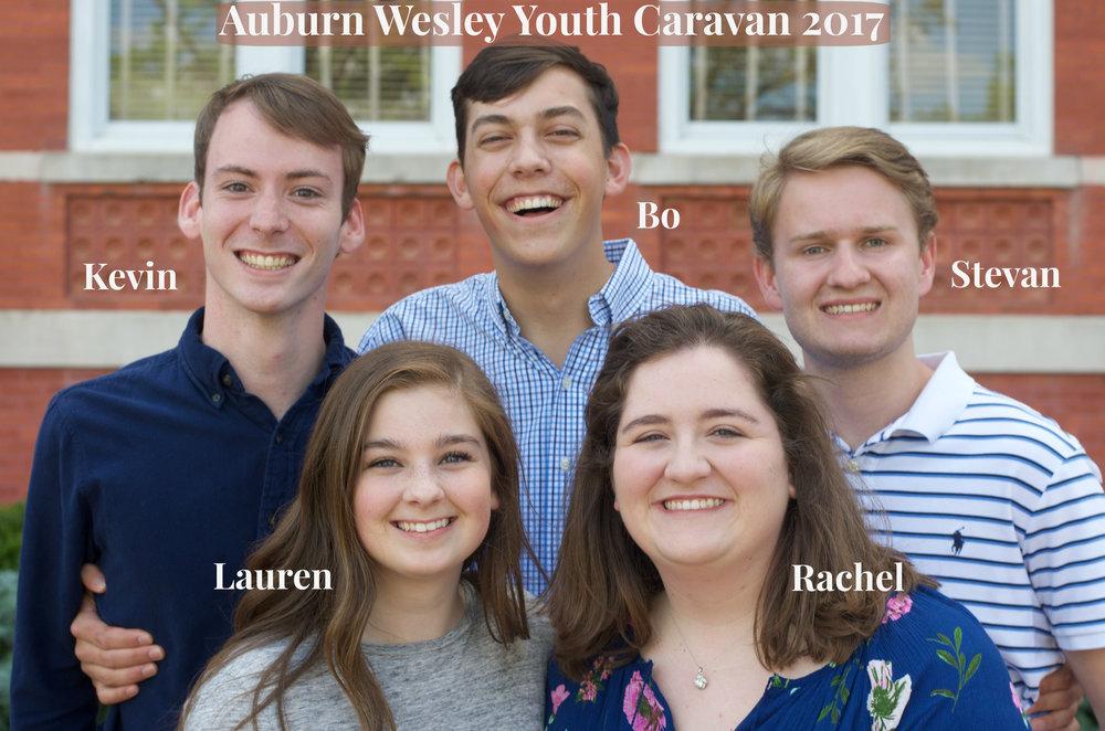 2017 Youth Caravan Team