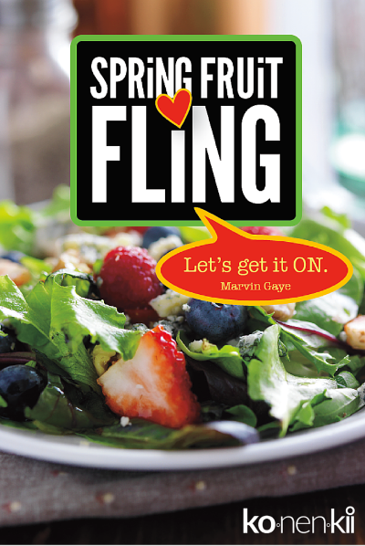 Konenkii Spring Fruit Fling Salad