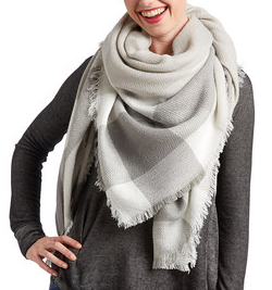Gray Plaid Blanket Scarf.png