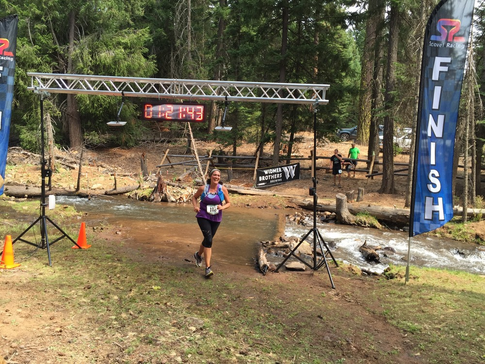 Finishing the 2015 McCubbins Gulch Scramble