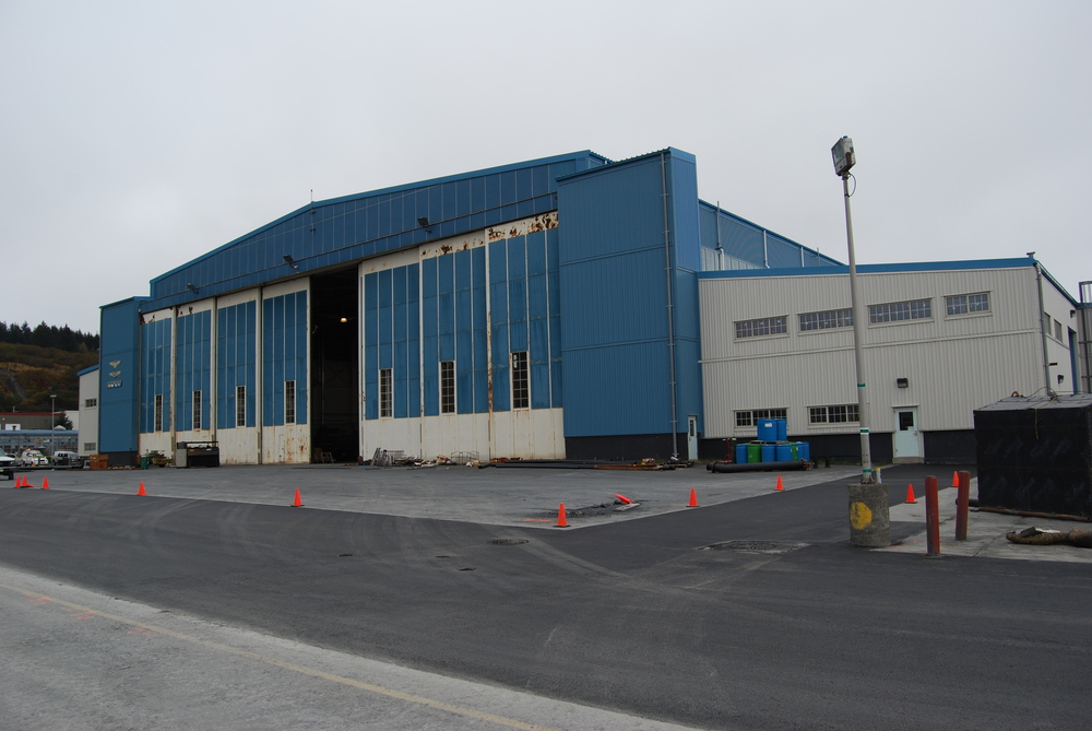 USCG Building 20 Interior Renovation | Base Kodiak, Alaska